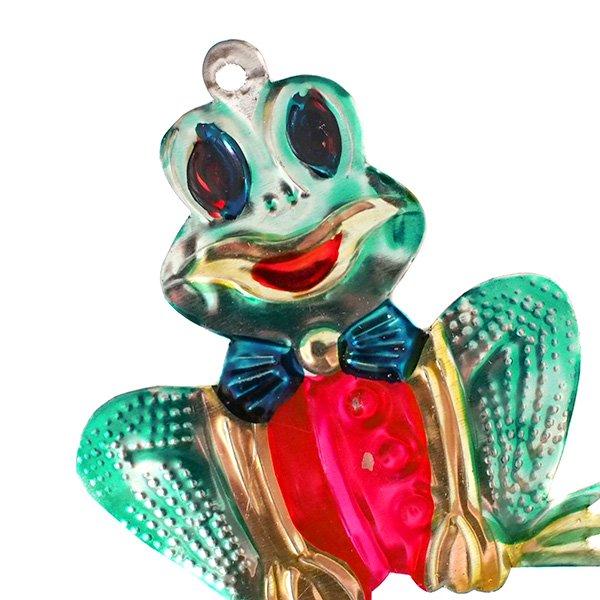 メキシコ ブリキオーナメント(カエル)【画像2】