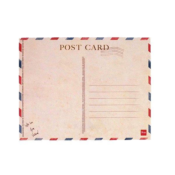 ベトナム ポストカード(お花売りのおじさん)【画像4】