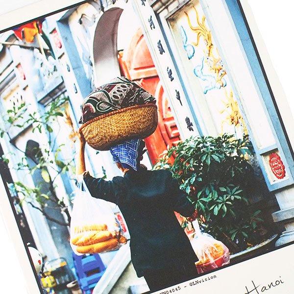 ベトナム ポストカード(パン屋さん)