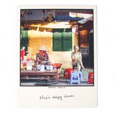 ベトナム ポストカード(Hue's sleepy charm フエの眠そうな人)