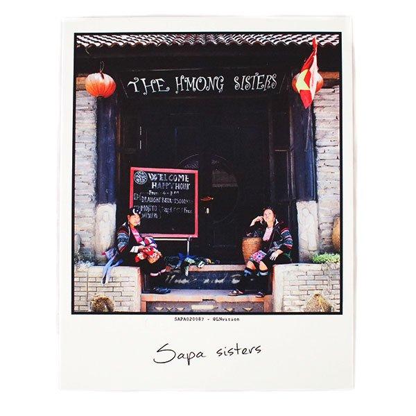 ベトナム ポストカード(Sapa sisters サパの姉妹)