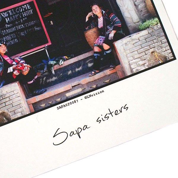 ベトナム ポストカード(Sapa sisters サパの姉妹)【画像3】