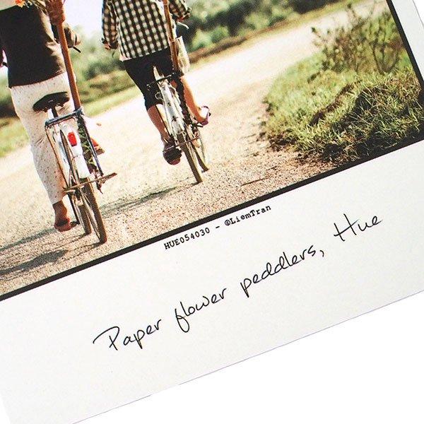 ベトナム ポストカード(紙のお花屋さん)【画像3】