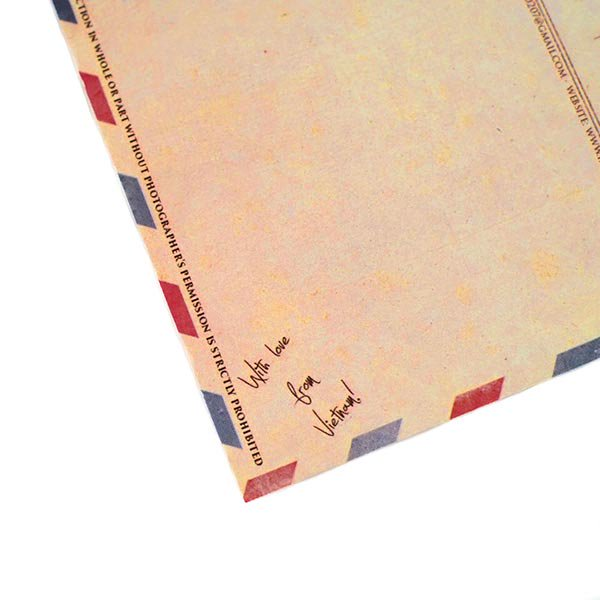 ベトナム ポストカード(紙のお花屋さん)【画像5】