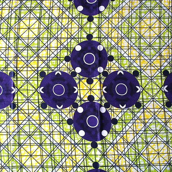 アフリカの布 パーニュ(模様)【画像2】