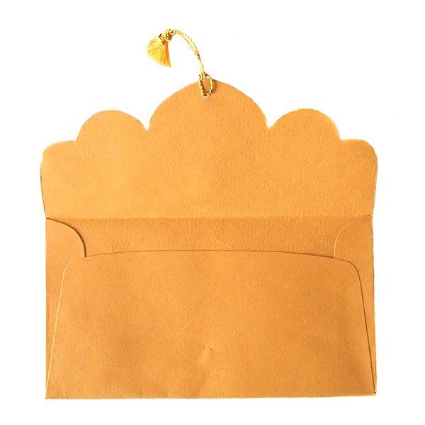 インド chimanlals(チマンラール)の封筒 ツルクサB【画像5】
