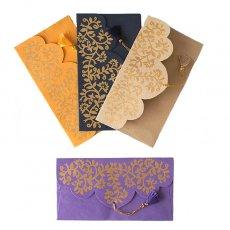 インド chimanlals(チマンラール)の封筒 ツルクサB