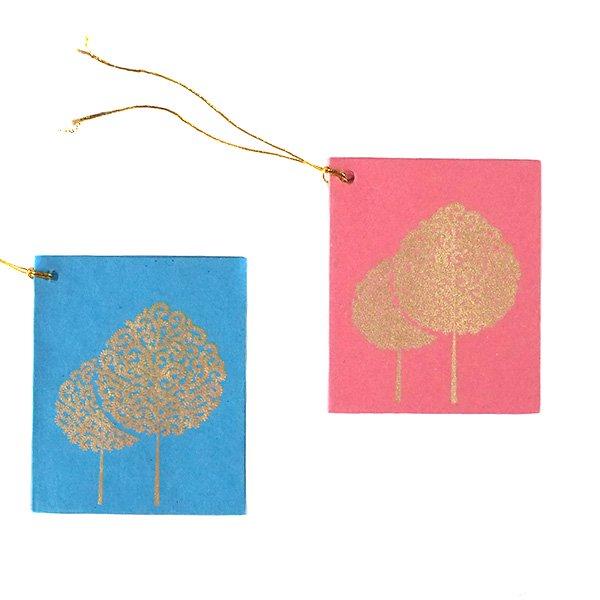 インド chimanlals メッセージカード(木)【画像2】