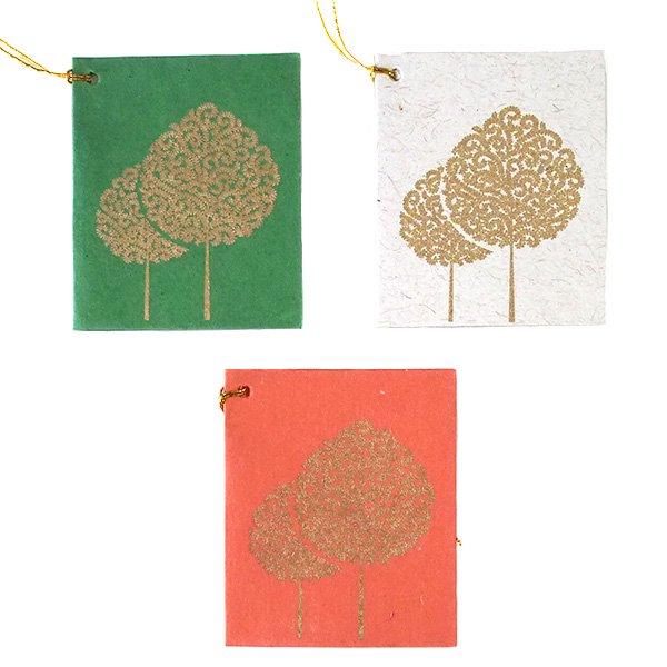 インド chimanlals メッセージカード(木)【画像3】