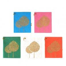 封筒 / メッセージカード インド chimanlals (チマンラール)木 メッセージカード(封筒なし)