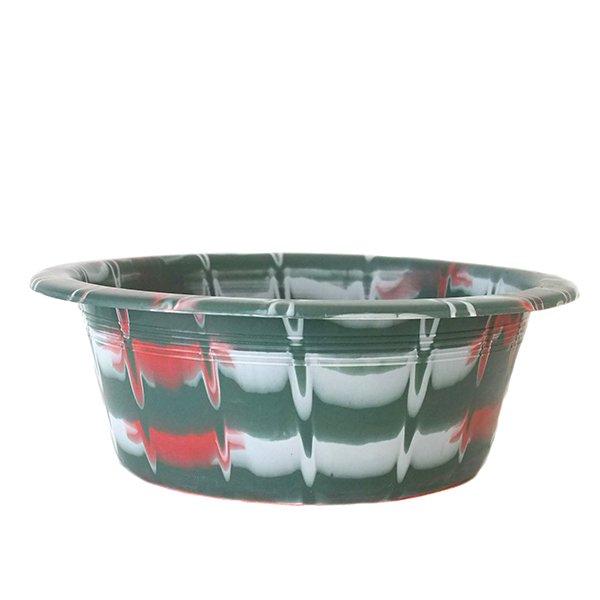 セネガル プラスチック洗面器(グリーン)