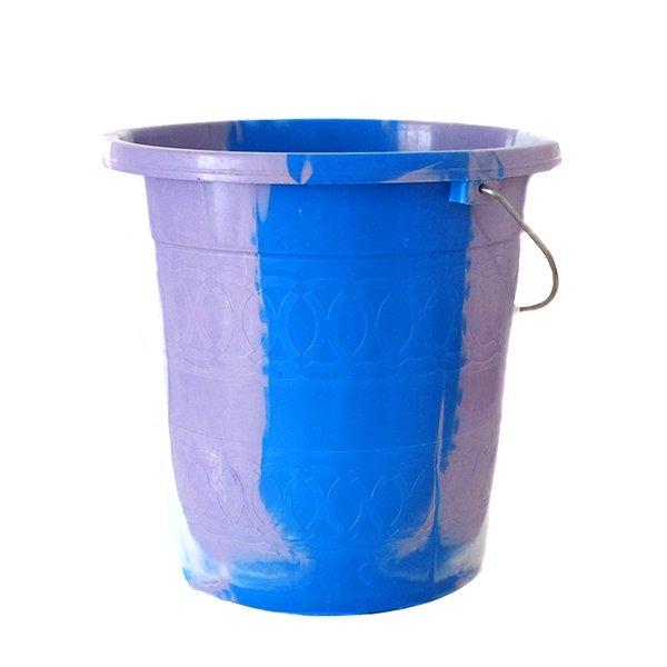 セネガル プラスチックバケツ(ブルー 5リットル)