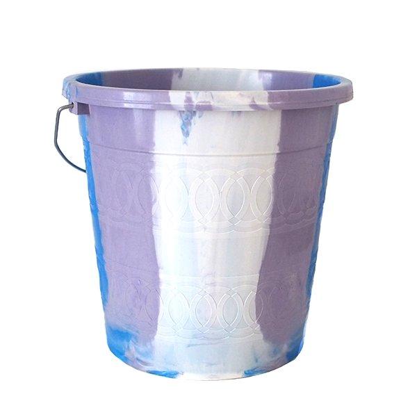 セネガル プラスチックバケツ(ブルー 5リットル)【画像2】