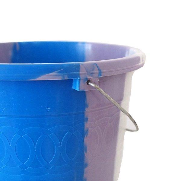 セネガル プラスチックバケツ(ブルー 5リットル)【画像4】