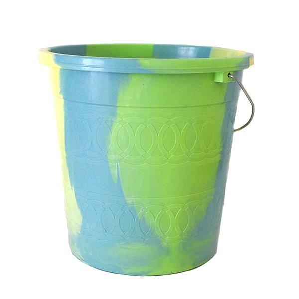 セネガル プラスチックバケツ(キミドリ 5リットル)
