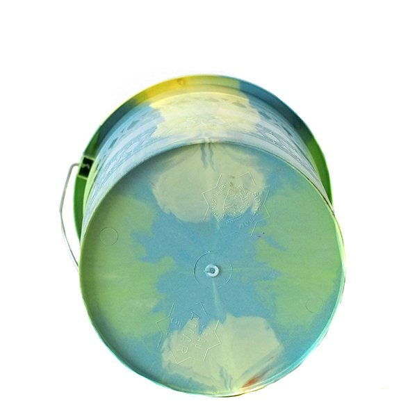 セネガル プラスチックバケツ(キミドリ 5リットル)【画像5】