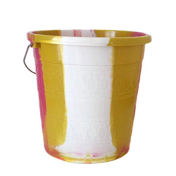 セネガル プラスチックバケツ(ピンク 5リットル)【画像2】