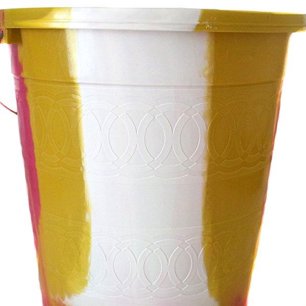 セネガル プラスチックバケツ(ピンク 5リットル)【画像3】