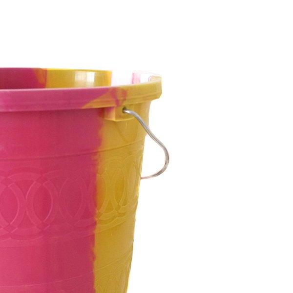 セネガル プラスチックバケツ(ピンク 5リットル)【画像4】