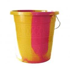 セネガル プラスチックバケツ(ピンク 5リットル)