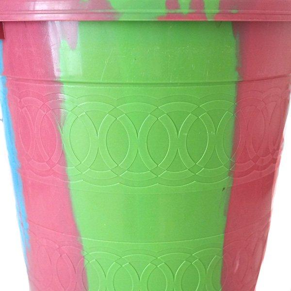 セネガル プラスチックバケツ(ピンク(2)  5リットル)【画像3】
