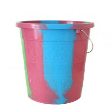 キッチン雑貨 セネガル プラスチックバケツ(ピンク2  5リットル)