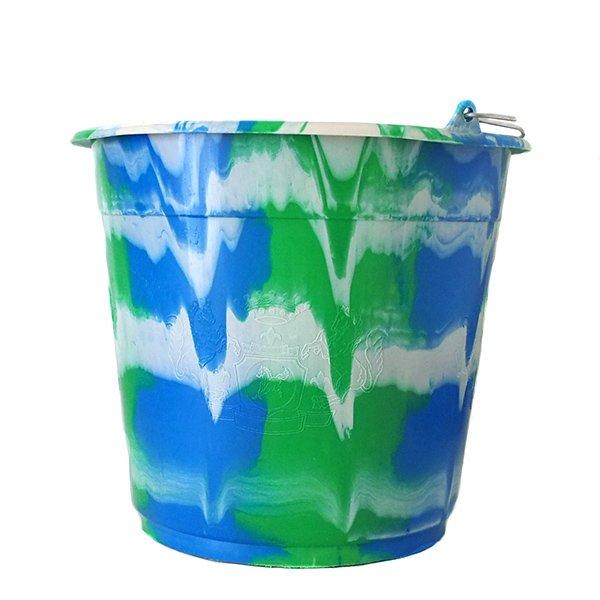 セネガル プラスチックバケツ(ブルー 10リットル)