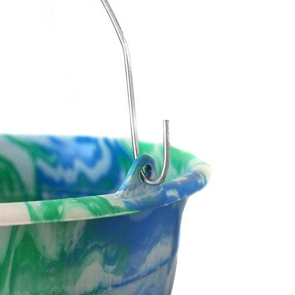 セネガル プラスチックバケツ(ブルー 10リットル)【画像2】