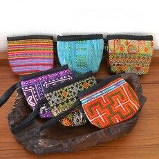 ベトナム 少数民族の刺繍コインケース