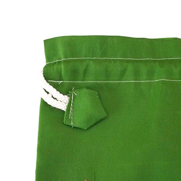 ベトナム 刺繍 巾着(トンボと花)【画像6】