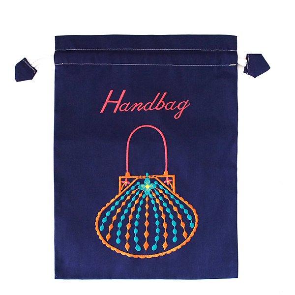ベトナム 刺繍 巾着(Hand bag)【画像2】