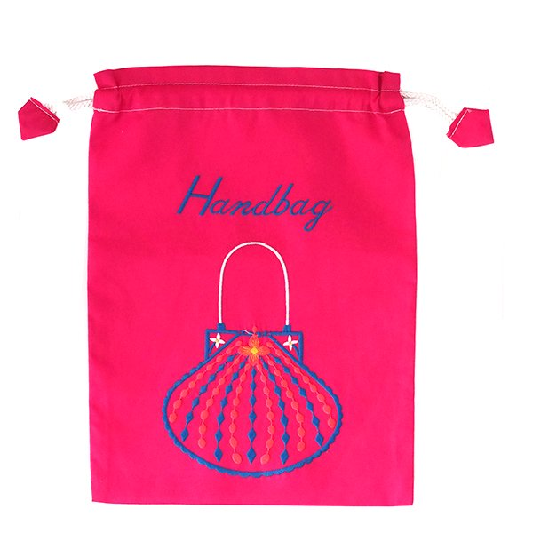ベトナム 刺繍 巾着(Hand bag)【画像3】