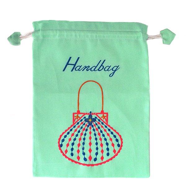 ベトナム 刺繍 巾着(Hand bag)【画像4】