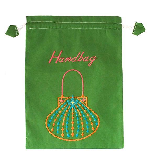 ベトナム 刺繍 巾着(Hand bag)【画像5】