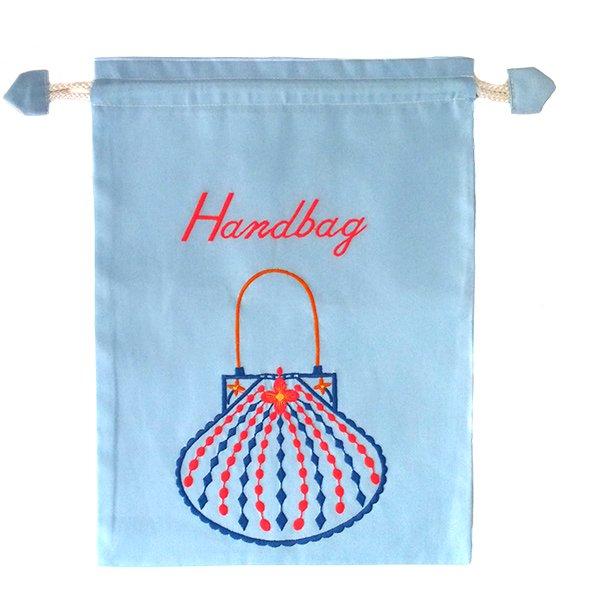 ベトナム 刺繍 巾着(Hand bag)【画像6】