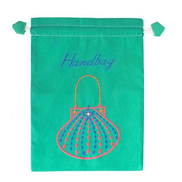 ベトナム 刺繍 巾着(Hand bag)【画像7】