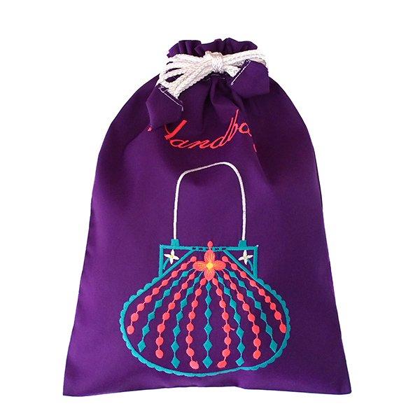 ベトナム 刺繍 巾着(Hand bag)【画像9】