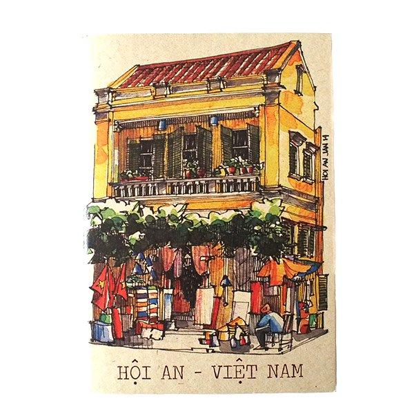 ベトナム ミニノート(町並み)【画像7】