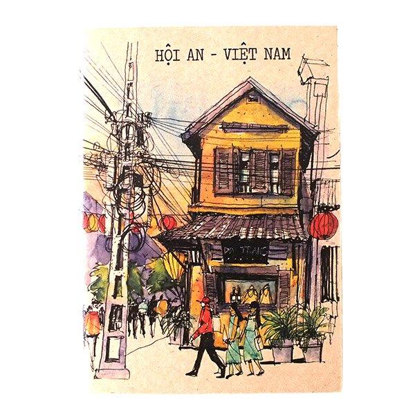 ベトナム ミニノート(町並み)【画像10】