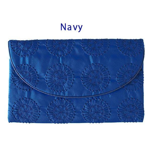 ベトナム 刺繍ポーチ 財布(シルク 模様)【画像2】
