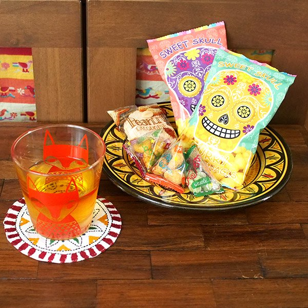 モロッコ サフィ陶器のお皿(20cm)【画像5】