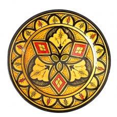 モロッコ サフィ陶器のお皿(20cm)