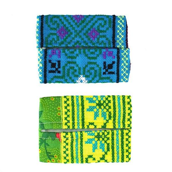 タイ モン族 刺繍 ポケットティッシュケース(4色)【画像2】