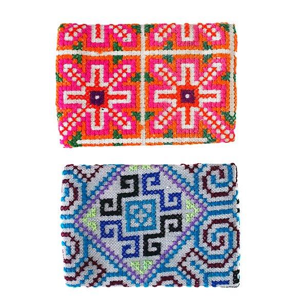 タイ モン族 刺繍 ポケットティッシュケース(4色)【画像5】