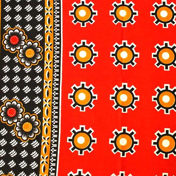 アフリカの布 カンガ(神様を信じて心穏やかに過ごしましょう)【画像3】