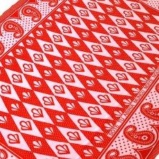 アフリカンプリント 布 アフリカ タンザニア カンガ プリント布 110×160(人生の采配をふるってくださるのは神様のみ・・)
