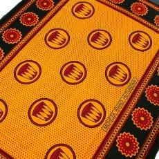アフリカの布 カンガ(親の言うことを聞いていれば、親の愛を得られる)