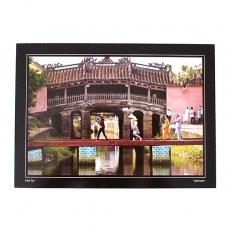 ポストカード / メッセージカード ベトナム ポストカード【Bridge pagoda in Hoi an 】ホイアンの橋の塔
