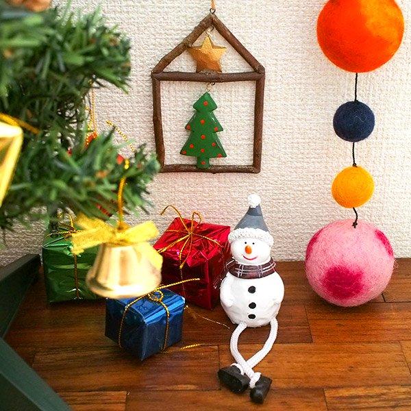 フィリピン  小枝のオーナメント(お家とクリスマスツリー)【画像6】