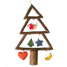 フィリピン  小枝のオーナメント(クリスマスツリー)